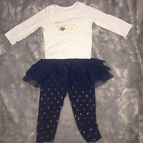 a61feff80 Carter's Matching Sets | Baby Girl Thanksgiving Outfit | Poshmark